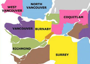 Finding homes in different cities in Vancouver
